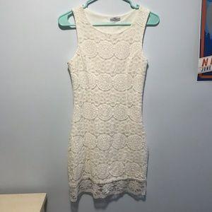 Dainty Hooligan White Lace Dress